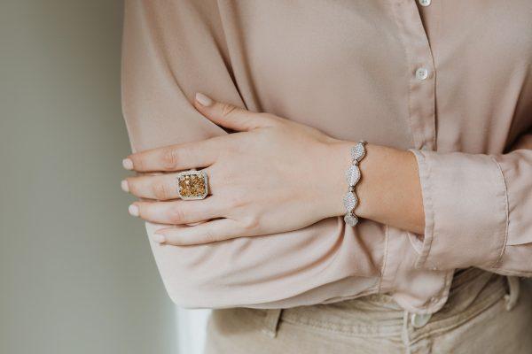 , Diamond Pave Set Bracelet