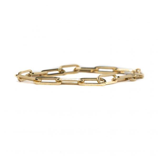 , 7″ Paperclip Bracelet