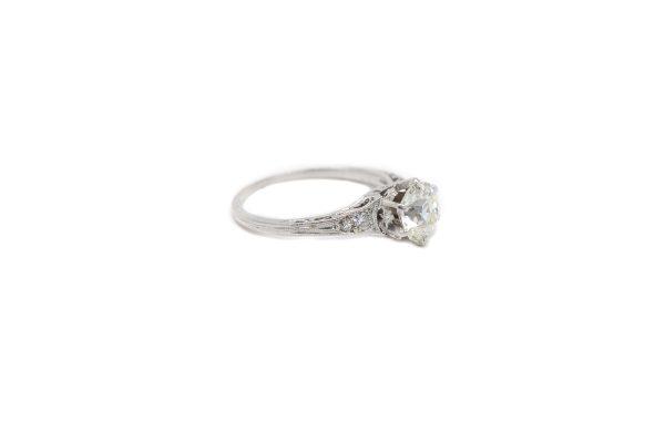 , Circa 1910 Old Min Cut Engagement Ring