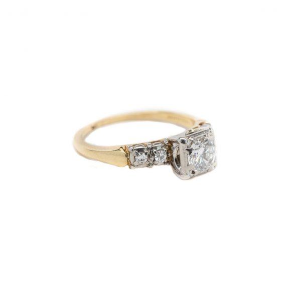 , Vintage Engagement Ring