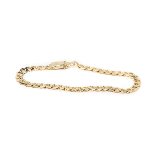 , Estate Link Gold Bracelet