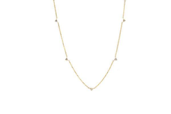 , Dainty Diamond Necklace