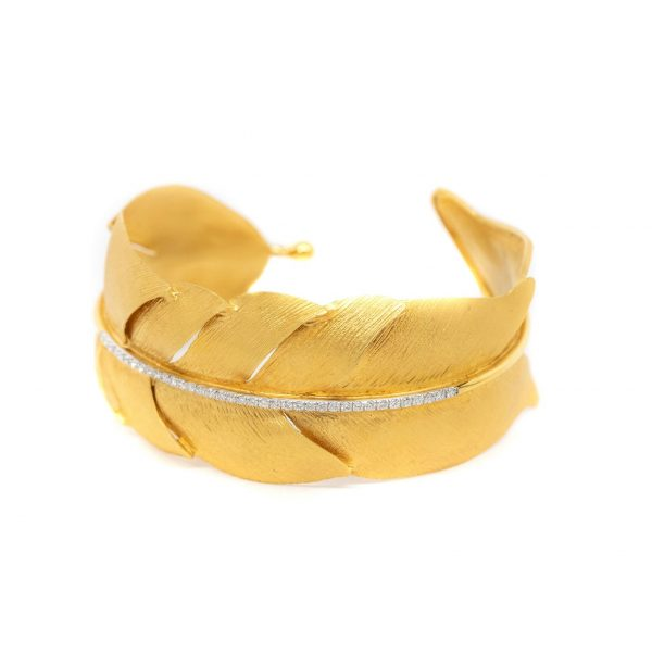 , H. Weiss Feather Cuff 28MM