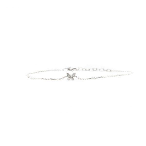 , Diamond Butterfly Bracelet